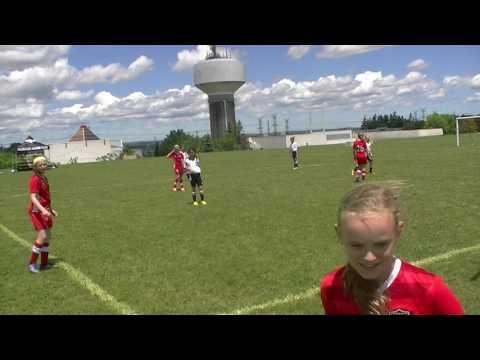 2017.06.24 #1 U11 Girl MSC Black vs. Toronto High Park FC Red