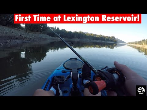 First Time Fishing At Lexington Reservoir!