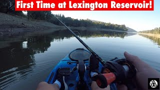 First Time Fishing at Lexington Reservoir