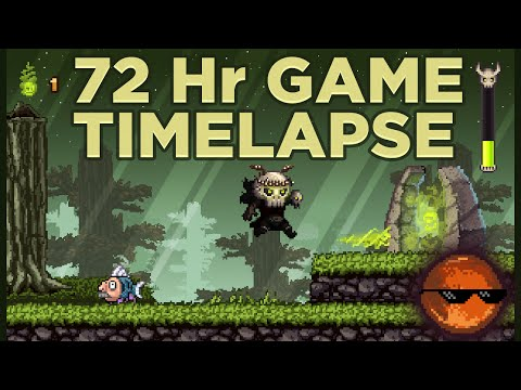 72 Hour Game Jam Timelapse : LD30 - Connected Worlds