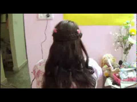 Real Angel Hairdo How To Make Priencess Hairstyle For