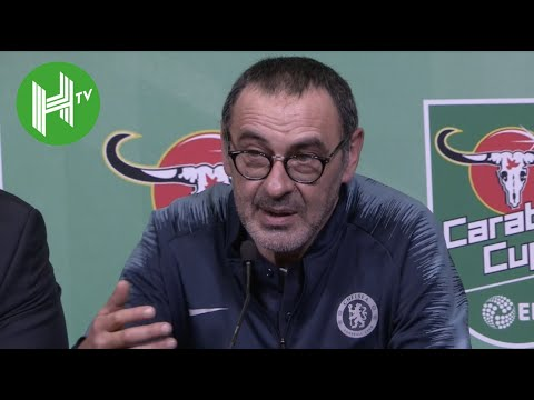 Chelsea 0-0 Man City (3-4 pens) | Sarri: I was so angry at Kepa!