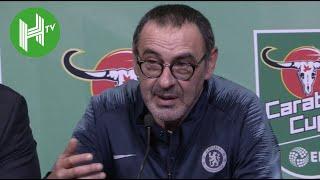 Chelsea 0-0 Man City (3-4 pens) | Sarri: I was so angry at Kepa!