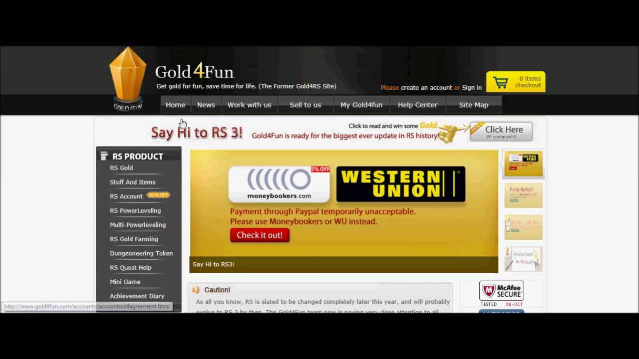 safe websites to buy runescape gold youtube