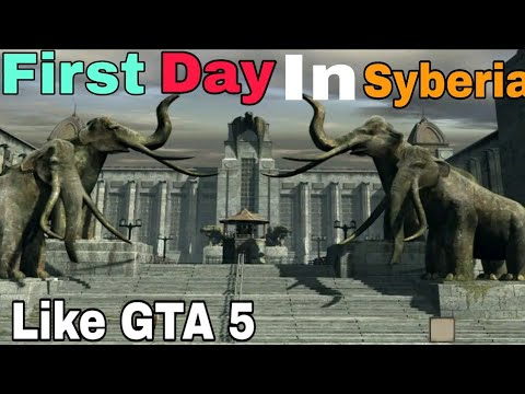 Played a story game for the first time |Like GTA 5 |Syberia 2 |