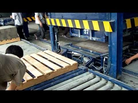 TRUNG HẬU - Quy trình sản xuất GẠCH NHẸ bê tông bọt