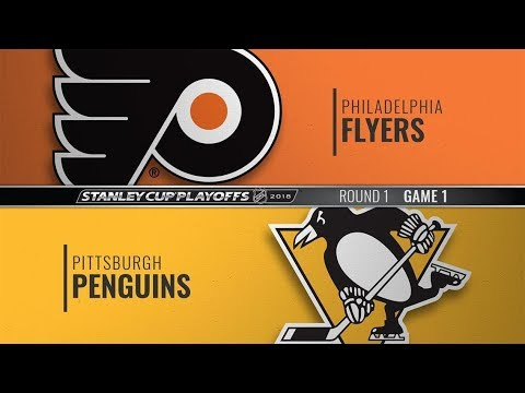 Philadelphia Flyers vs Pittsburgh Penguins (0-7) – Apr. 11, 2018 | Game Highlights | NHL 2018