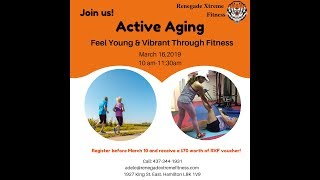 Renegade Extreme Fitness - Active Aging Healthy Lifestyle