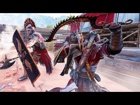 Assassin's Creed Origins Legendary Centurion Brutal Combat & Chain Assassinations thumbnail