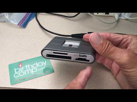 How to clean a SD card in your card reader on a Mac