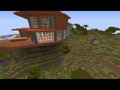 Modernes minecraft haus 1 7 2 youtube for Modernes haus 2 etagen