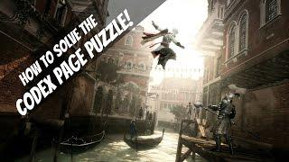 Decoding the Codex Puzzle in Assassin