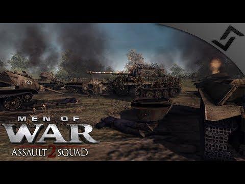 Massive 8v8 Kursk Tank Clash /w Subs Robz Mod - Men of War: Assault Squad 2 Multiplayer