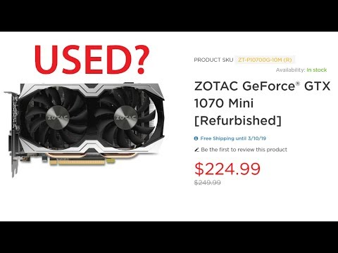 Refurbished Graphic Cards For Mining?