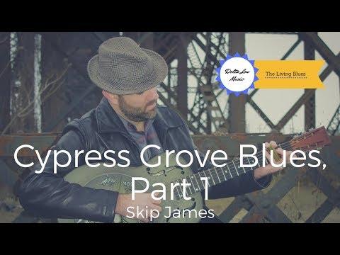 Cypress Grove Blues Skip James Guitar Lesson Delta Lou Part 1