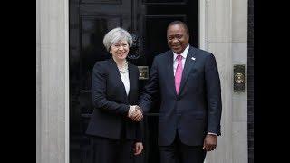 President Uhuru Kenyatta's full speech during UK Prime Minister Theresa May's visit to Kenya