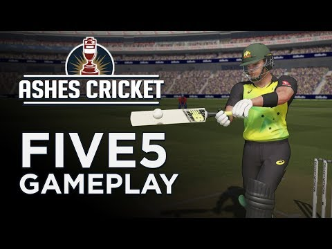 ASHES CRICKET | FIVE5 GAMEPLAY | MY FIRST GAME!