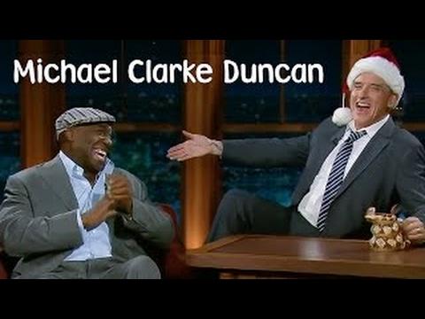 Craig Ferguson gets koi with Michael Clarke Duncan 2008