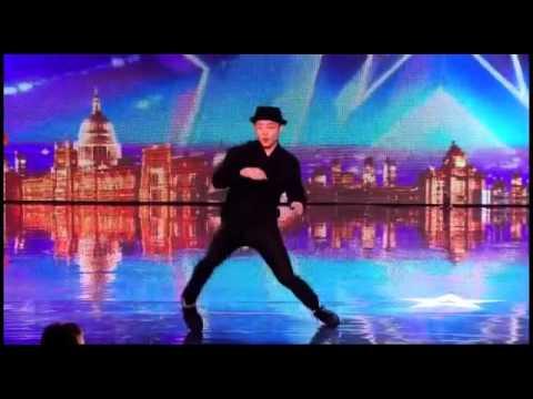 رقص الرجل الصفيح  برنامج المواهب البريطاني  مترجم