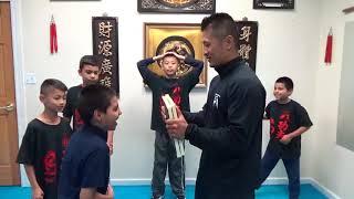 Board Breaking Training - Kung Fu Kids - Nov 8 2017
