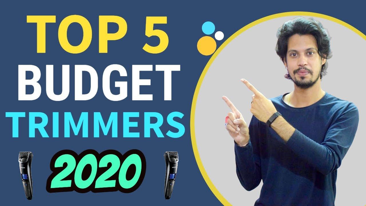 Best Trimmers for men 2020 (हिंदी) | Top 5 trimmers for men | Best Trimmers for men under 2000