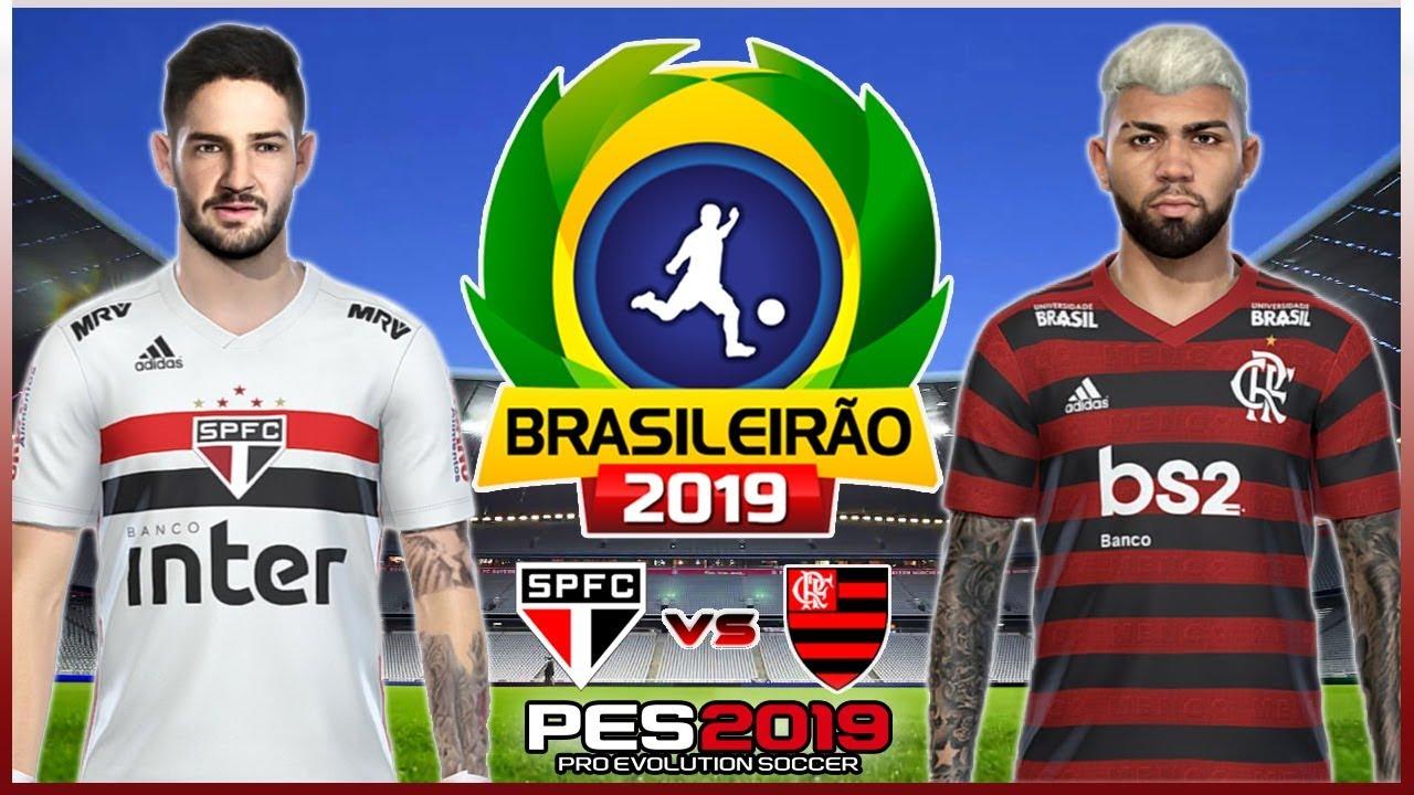 São Paulo x Flamengo - Campeonato Brasileiro 2019 - 05/05 ...