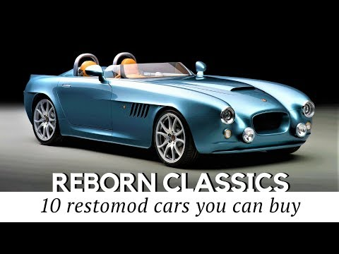 10 Old Classic Cars Restored and Custom Modified with New Tech