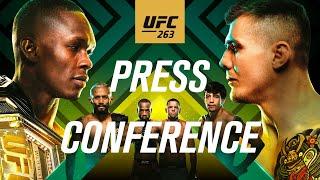 UFC 263: Pre-fight Press Conference