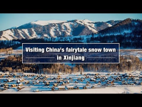 Live: Visiting China's fairytale snow town in Xinjiang 雪乡禾木 水墨仙境