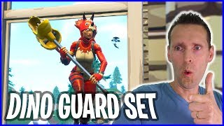 New Dino Guard Set with TRICERA OPS Skin in Fortnite Battle Royale!