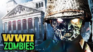 NEW COD WW2 ZOMBIES MODE DETAILS, NEW GAME SCREENSHOTS, ARTWORK & MORE! (Call of Duty 2017)