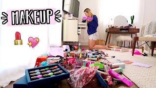 Organizing All My Makeup!! AlishaMarieVlogs