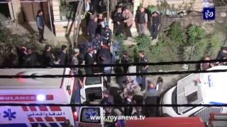 شاهد موقع جريمة مقتل مسن وزوجته في اربد