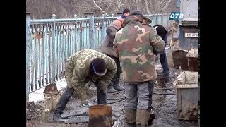Реконструкция моста продолжается