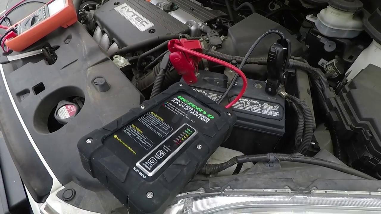 Rezervo - Batteryless Jump Starter