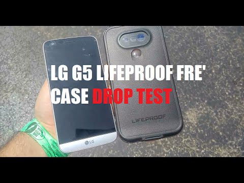 promo code fd244 51556 Lifeproof FRE' Case for LG G5 Drop Test