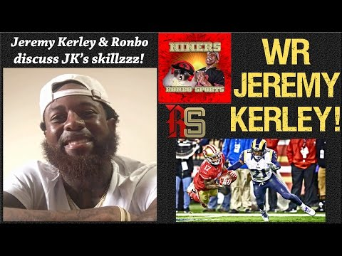 NFL 49ers No.1 Wide Receiver Jeremy Kerley Talks Being A 49er & Patriots Rivalry!