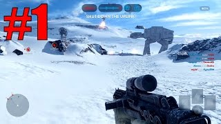 Star Wars Battlefront Multiplayer Gameplay!  Part 1 (PC 1080p Early Access Beta)