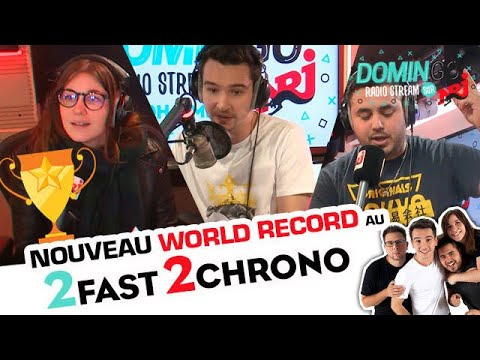 Nouveau World Record au 2Fast ! DominGo Radio Stream sur NRJ