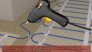Монтаж электрического тёплого пола — наглядная видео инструкция(ремонт своими руками., 2014-01-23T09:48:19.000Z)