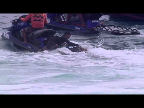 Owen Wright's Wipeout at Teahupo'o -Billabong Pro Tahiti 2014