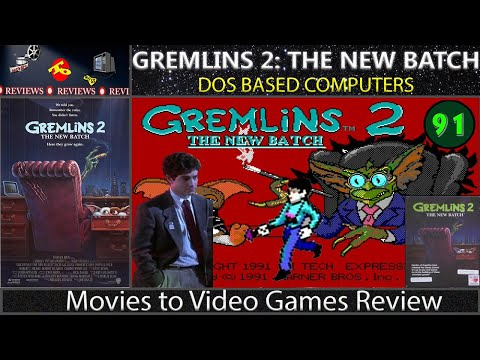 Movies to Video Games Review - Gremlins 2: The New Batch (DOS)
