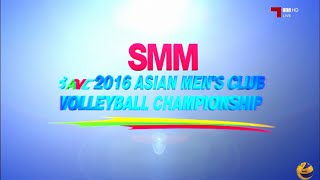 China vs Kazakhstan | 29 Aug 2016 | Quarterfinal 3 | 2016 Asian Men's Club Volleyball Championship