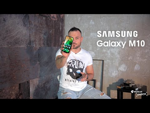 Samsung Galaxy M10 | Moldcell Unbox (review în Română)
