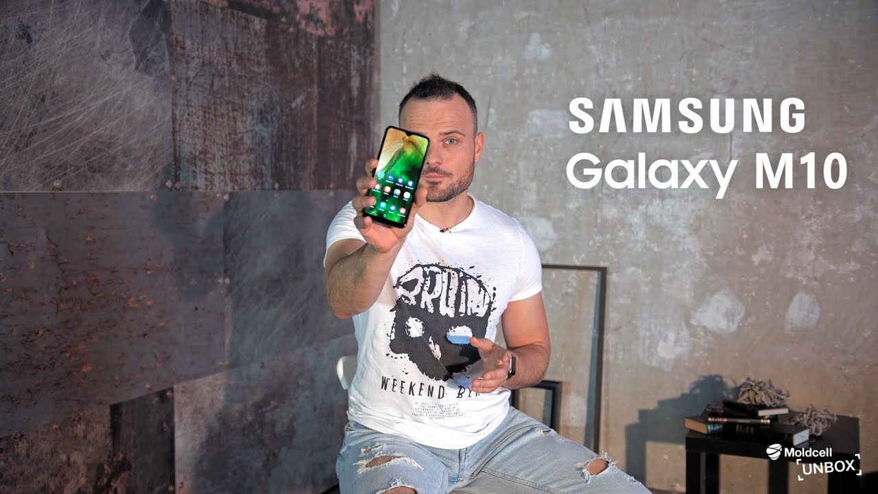 Samsung Galaxy M10   Moldcell Unbox (review în română)