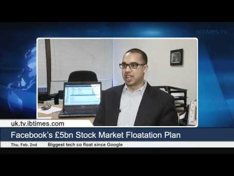 Facebook's £5bn Stock Market Floatation Plan
