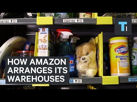 How Amazon Arranges Its Warehouses