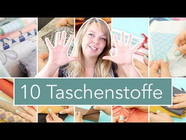 10 Stoffarten für Taschen   Nastjas Nähtipps