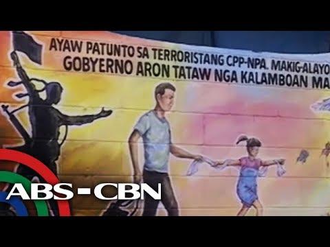 Kampanya Sa Pagsalikway Sa NPA, Giagi Sa Mural Painting Sa DCPO   TV Patrol Southern Mindanao