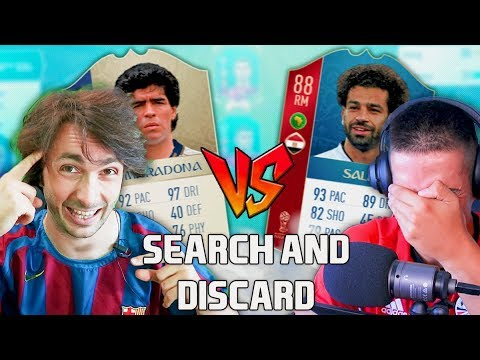 ODE SALAAAAH!!? 😨 SEARCH & DISCARD FIFA 18 w/Malajski Tapir